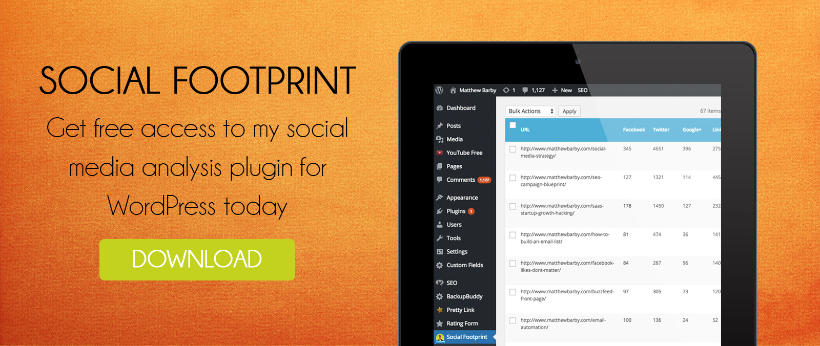 Download my free social media plugin