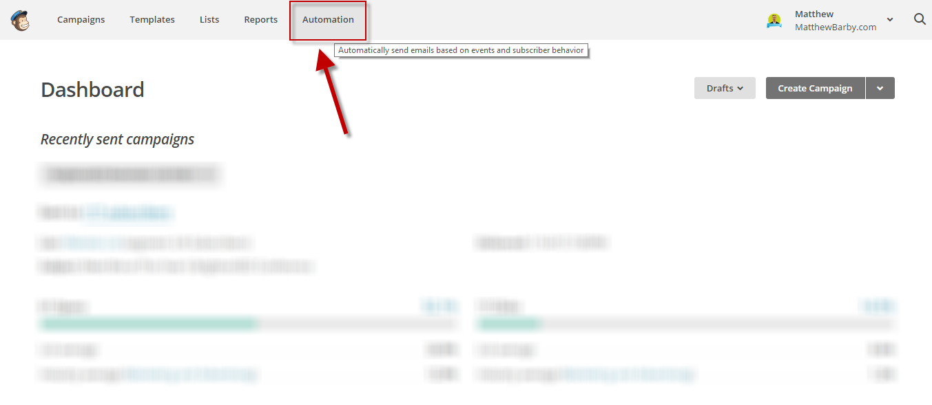how to change title name on subscribers page mailchimp