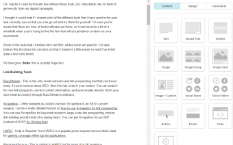 Designing your emails within MailChimp