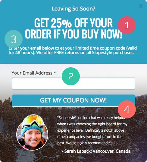Wishpond Discount Popup