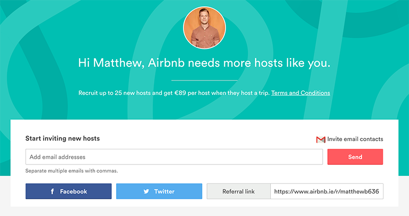 Airbnb Virality
